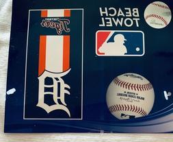 MLB Detroit Tigers Beach Towel - NWT - 60 X 30