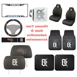 MLB Detroit Tigers Choose Your Gear Auto Accessories Officia