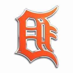 MLB Detroit Tigers Die Cut Color Automobile Emblem