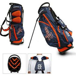 MLB Detroit Tigers Fairway Stand Golf Bag, Orange