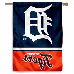 MLB Detroit Tigers House Flag and Banner