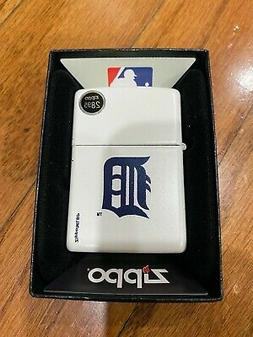 MLB Detroit Tigers Logo Zippo Lighter - Collectible