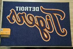 mlb detroit tigers rookie mat area rug