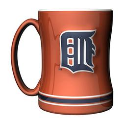MLB Detroit Tigers 14-ounce Sculpted Relief Mug Alternate Co