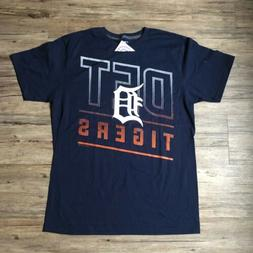 MLB Detroit Tigers Shirt sz L Large Comfort Fit Genuine Merc