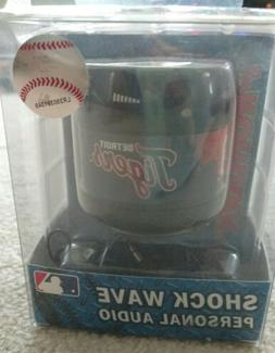 MLB Detroit Tigers Shock Wave Personal Audio Speaker New