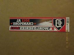 MLB Detroit Tigers Vintage Circa 2012 AL Champions Team Logo