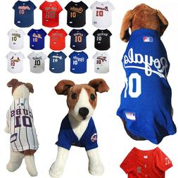 mlb fan pet gear dog jersey dog