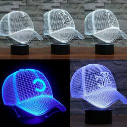 mlb kc multi baseball cap visual 3d