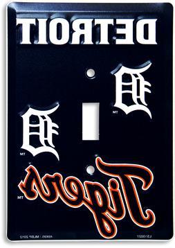 MLB licensed Detroit Tigers baseball single metal light swit