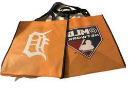 MLB Network Detroit Tigers Tote Reusable Shopping Bag NEW