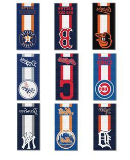 """MLB Teams """"Zone Read"""" Beach Towel, 30-inch by 60-inch"""