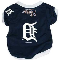 NEW DETROIT TIGERS PET DOG BASEBALL JERSEY ALTERNATE STYLE A