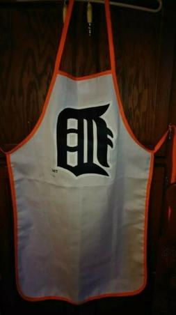 new licensed detroit tigers team apron tailgate