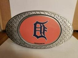NEW!! MLB Detroit Tigers Metal Diamond Plate Trailer Hitch C