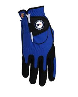 Zero Friction NFL New England Patriots Blue Golf Glove, Left
