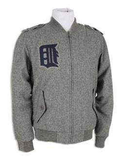 NWT! MITCHELL AND NESS DETROIT TIGERS TRACK JACKET WINTER CO