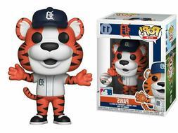 FUNKO POP MLB Mascots Detroit Tigers #11 PAWS Vinyl Figure i