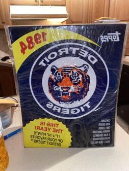 RARE 1984 Detroit Tigers World Series 11x14 Print Photo Set