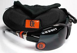 Read Listing! Detroit Tigers XL 3D Logo on BLK Blade Sunglas