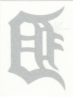 REFLECTIVE Detroit Tigers 2 inch fire helmet decal sticker R