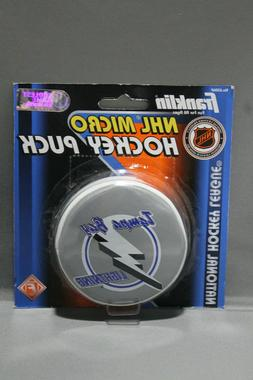 Franklin Tampa Bay Lighting NHL Micro Hockey Puck New In Box