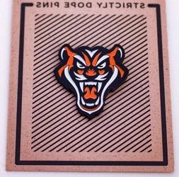 Tiger Lapel Pin - Data - Detroit- Tigers - Obey- Clothing Ac