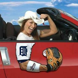 Too Cool! New Detroit Tigers Auto Car Arm Magnet S166
