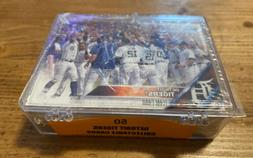 Topps 50 Detroit Tigers Collectable Cards, New In Case