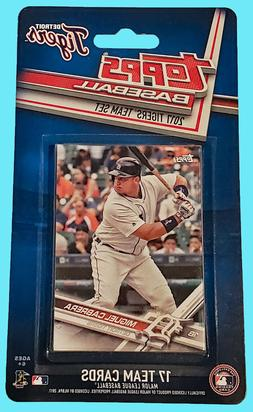 Topps Baseball 2017 DETROIT TIGERS FACTORY SEALED CARD TEAM