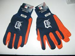 TWO   PAIR OF DETROIT TIGERS, SPORT UTILITY GLOVES FROM FORE