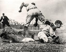 Ty Cobb Al Kaline Detroit Tigers HOF MLB Baseball Photos CHO