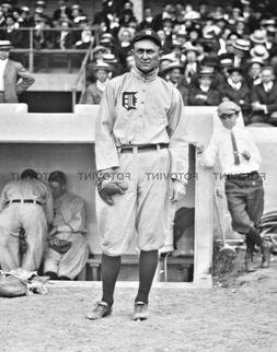 TY COBB Photo Picture DETROIT TIGERS Baseball Vintage Print