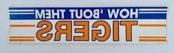 Vintage Detroit Tigers 1980's Bumper Sticker - Tiger Stadi