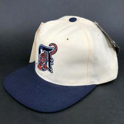 Vintage Detroit Tigers American Needle Snapback Hat Tiger Co