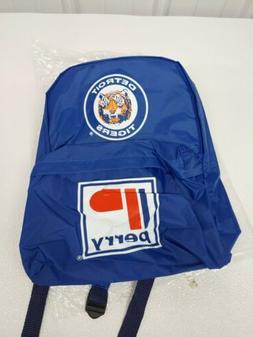 Vintage Detroit Tigers Team Logo Promotional Backpack -Possi