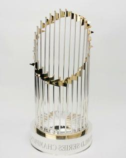 world series champions trophy glossy 8 x